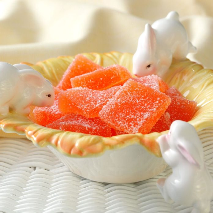 orange jelly candy from Taste of Home